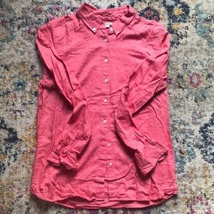 Gap Red Button Down Size S